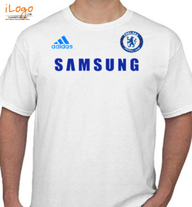 Chelsea Away Shirt   Badge - T-Shirt