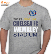 Football Chelsea-FA-Cup--Finals-Soccer-T-Shir T-Shirt