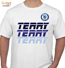 Football Chelsea-Terry-Player-T-Shirt T-Shirt