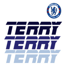 Football Chelsea-Terry-Player-T-Shirt T-Shirt