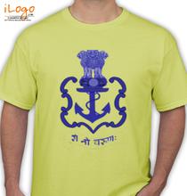 Indian-Navy-crest T-Shirt