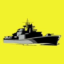 Navy PERGUNTAS-PARA-LEITURA T-Shirt