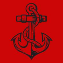 Navy Anchor-Tattoos T-Shirt