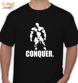 CONQUER. - T-Shirt