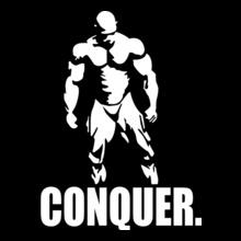 GYM  CONQUER. T-Shirt