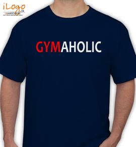 gym-aholic - T-Shirt