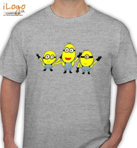 minions bob kevin - T-Shirt