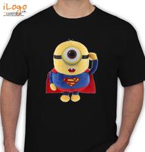 Minion superman-front-clear T-Shirt