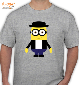 rocker minion by jeproxy - T-Shirt