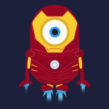 Minion jtQEHW-minion-ionman T-Shirt