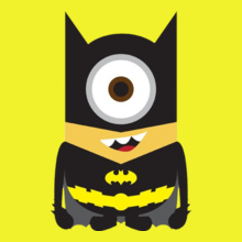 Minion batman-minion- T-Shirt