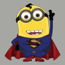 Minion Minion-Superman T-Shirt