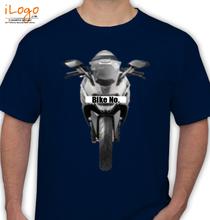 Bike Numbered Grey-KTM-Personalised T-Shirt