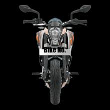 Bike Numbered KTM-Bike-Personalised T-Shirt