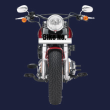 Bike Numbered Harley-Davidson-Personalised T-Shirt