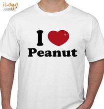 Peanut I-LOVE-peanuts T-Shirt