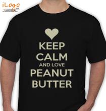Peanut love-keep-calm-peanut-butter T-Shirt