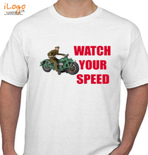 Police watch-your-speed T-Shirt
