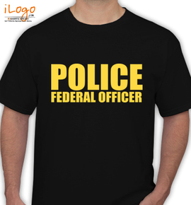 police-federal-officer - T-Shirt