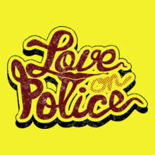 Police love-on-police T-Shirt