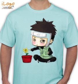 chibi-yamato-with-flower-by-erava-copy - T-Shirt