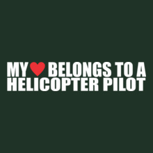 Helicopter-Pilot- T-Shirt