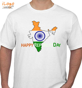 HAPPY REPUBLIC DAY INDIAN  - T-Shirt