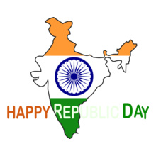HAPPY-REPUBLIC-DAY-INDIAN- T-Shirt