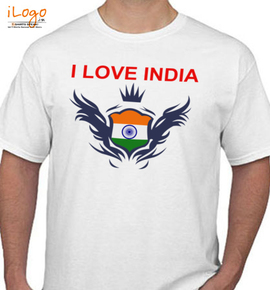 I LOVE INDIA  JAN - T-Shirt