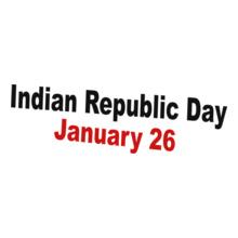 INDIAN-REPUBLIC-DAY-HAPPY T-Shirt