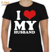 Couple I-LOVE-MY-WIFE- T-Shirt