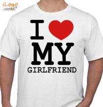 Couple I-LOVE-MY-GIRLFRIEND T-Shirt