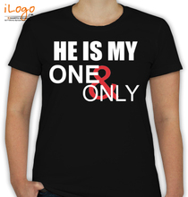 Couple SHE-IS-ONE-ONLY- T-Shirt
