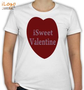 I SWEET VALENTINE DAY - T-Shirt [F]