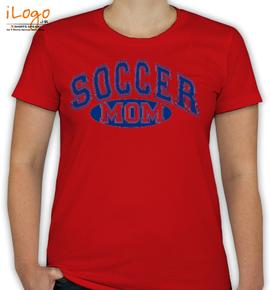 soccer mom blue - T-Shirt [F]