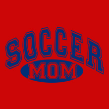 soccer-mom-blue T-Shirt