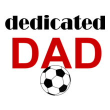 SoccerConnections dedicated-dad T-Shirt
