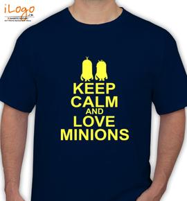 LOVE-MINIONS - T-Shirt
