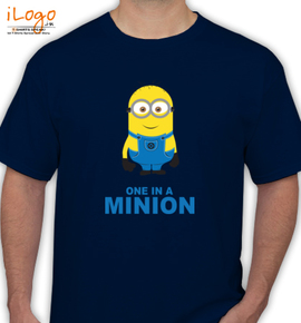 one in a minions - T-Shirt