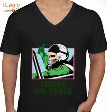 Indian-Air-force-black T-Shirt