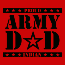 Army-dad. T-Shirt