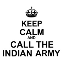 Keep-Calm-Call-Indian-Army T-Shirt