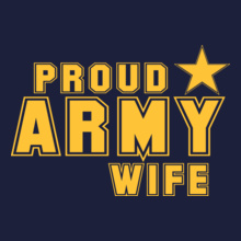 Proud-army-wife T-Shirt