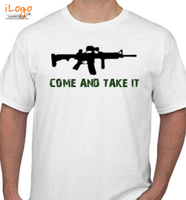 Come-and-take-it - T-Shirt