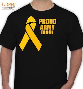 army-mom. - T-Shirt