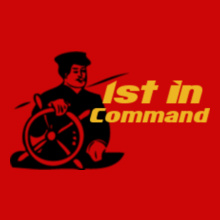 st-in-command-Navy T-Shirt