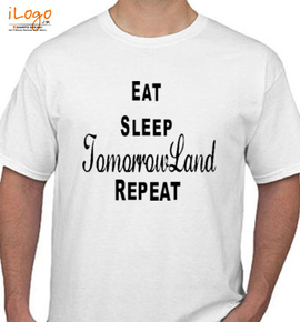 eat-sleep-tomorrowland - T-Shirt