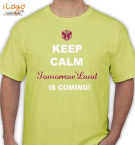 keep-calm-tomorrowland-is-coming - T-Shirt