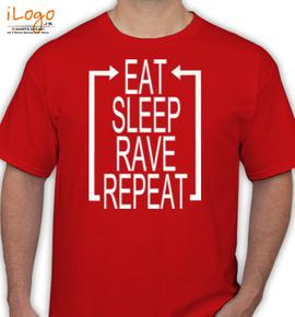 eat-sleep - T-Shirt