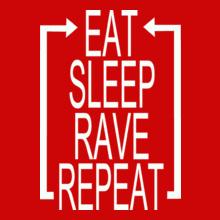Tomorrowland eat-sleep T-Shirt